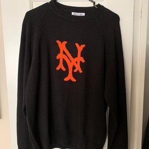 Hillflint Mets Sweater - Cooperstown Collection
